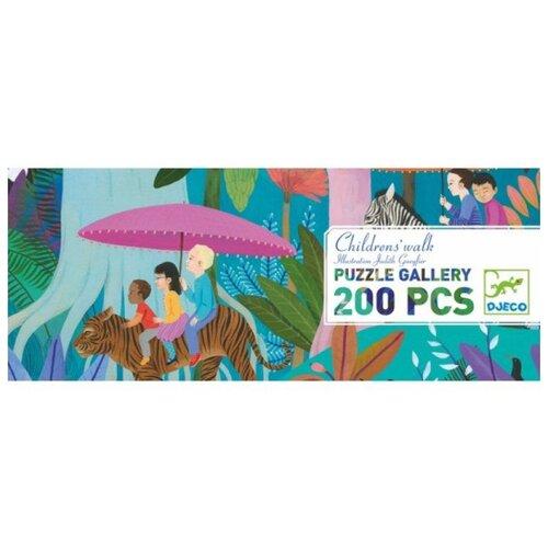 Купить Пазл DJECO Детская прогулка (07607), 200 дет., Пазлы
