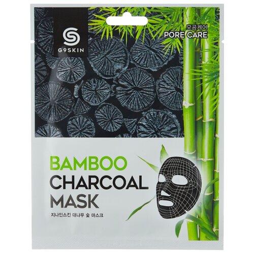 G9SKIN Маска для лица тканевая с бамбуковым углем Bamboo Charcoal, 25 г, 25 мл levissime тканевая маска для интенсивного лифтинга 25 мл