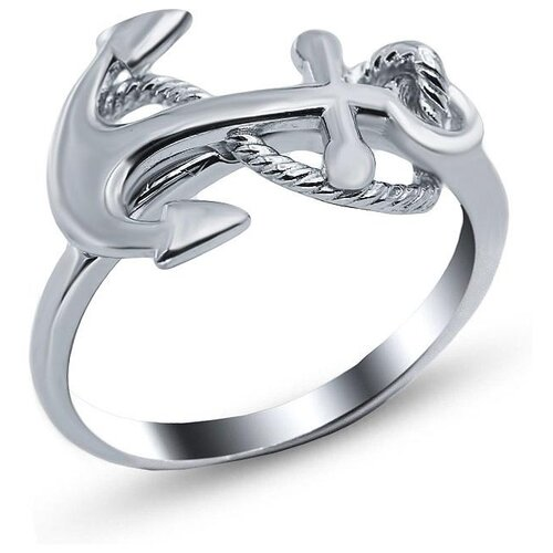 Silver WINGS Кольцо из серебра 21abg-113, размер 17.5 браслеты silver wings 04fyb5172a 113