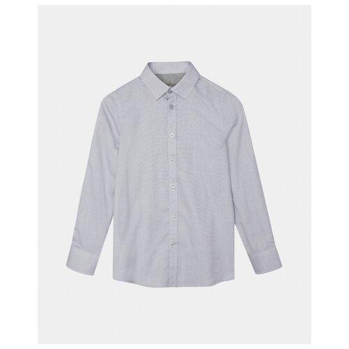 Купить Рубашка Gulliver размер 128, серый, Рубашки