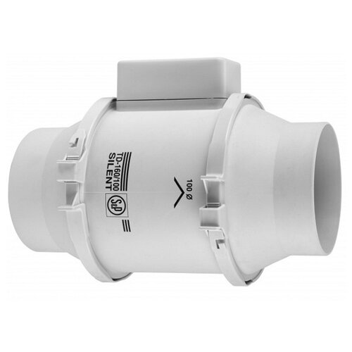 Канальный вентилятор Soler & Palau TD-160/100 N SILENT белый