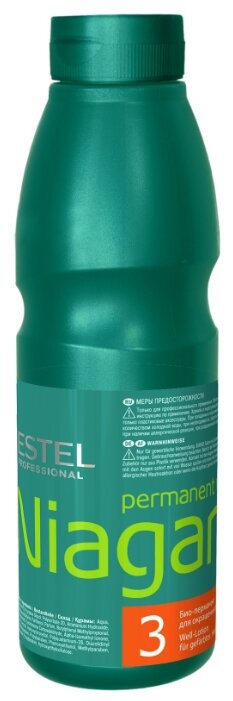 ESTEL PROFESSIONAL Био-перманент №3 для окрашенных волос / Niagara 500 мл