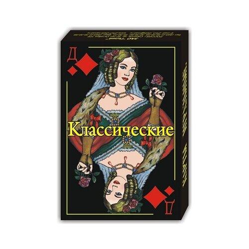 Гелий игральные карты Классические 36 шт. черный