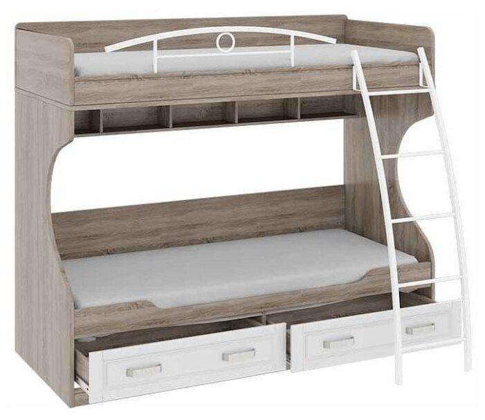 Двухъярусная кровать детская ТриЯ Прованс СМ-223.11.002 — купить по выгодной цене на Яндекс.Маркете