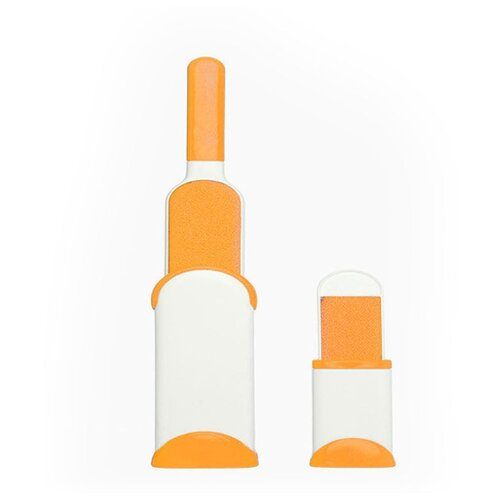 Удачная покупка щетка для чистки одежды оранжевый