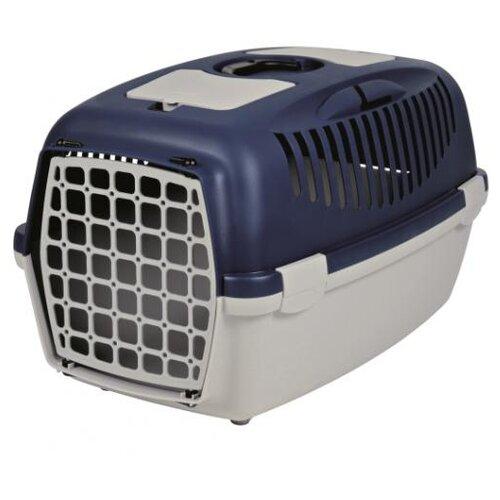 Фото - Клиппер-переноска для собак TRIXIE Capri 3 S 38х40х61 см светло-серый/темно-синий клиппер переноска для собак imac linus cabrio 50х32х34 см розовый