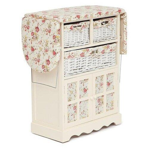Комод Secret de Maison Saint-Tropez Campanard (PE-03) , размер: 64х35 см , цвет: слоновая кость