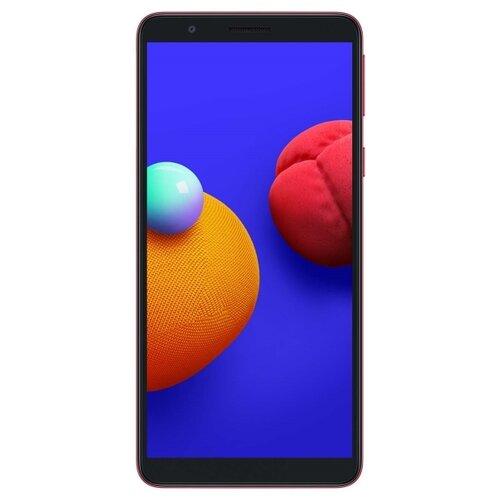 Смартфон Samsung Galaxy A01 Core 16GB красный (SM-A013FZRDSER) смартфон samsung galaxy a01 core 1 16gb красный