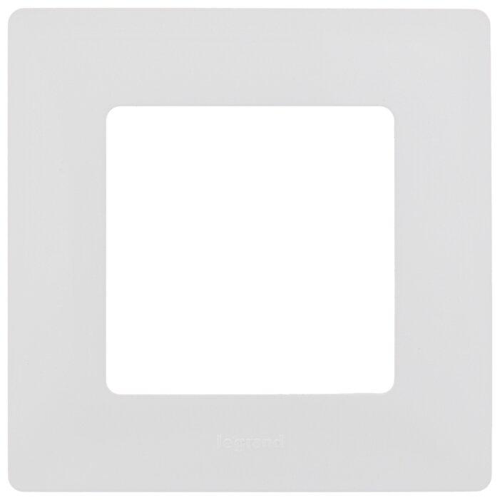 Рамка 1п Legrand Etika 672501, белый