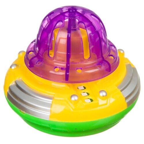 Фото - Юла Zhorya Потеша Музыкальный светлячок (Б94072) розовый/зеленый развивающие игрушки zhorya музыкальный жираф