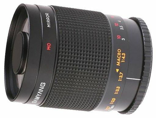 Объектив Samyang 500mm f/8 MC IF Mirror 4/3