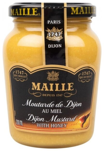 Горчица Maille С медом, 200 мл