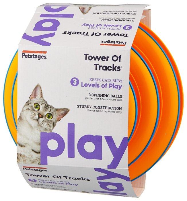 Игрушка для кошек Petstages Play Трек 3 этажа (317STEX)