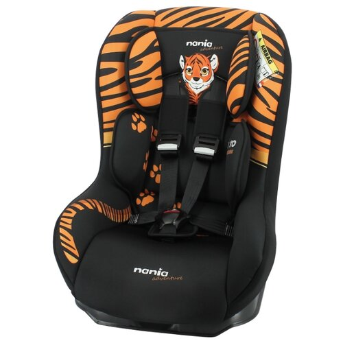 Автокресло группа 0/1 (до 18 кг) Nania Driver Animals (2020), tiger автокресло группа 0 1 до 18 кг nania driver animals zebra 2020