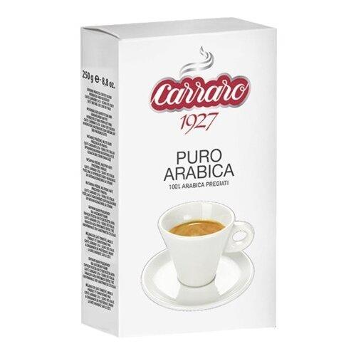 Фото - Кофе молотый Carraro Arabica, 250 г кофе молотый carraro india 250 г