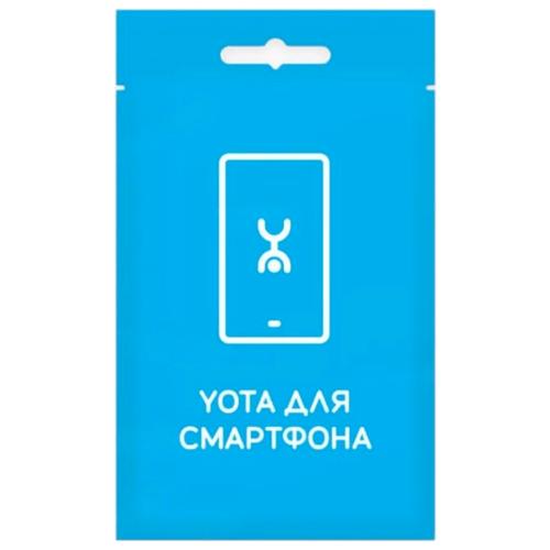 Тарифный план Yota для смартфона с саморегистрацией тарифный план