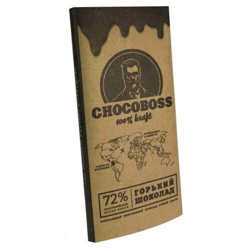 Шоколад Chocoboss горький, 50 г