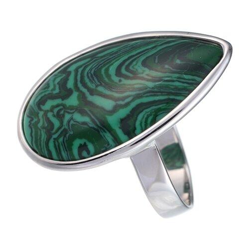 цена на JV Кольцо с ювелирным стеклом из серебра B3200-US-002-WG, размер 16.5