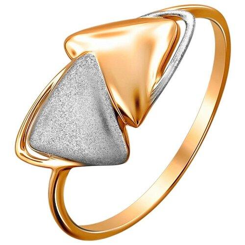Эстет Кольцо из красного золота 01К7112339Р, размер 18 ЭСТЕТ