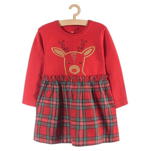 Купить Платье 5.10.15 размер 134, красный, Платья и сарафаны