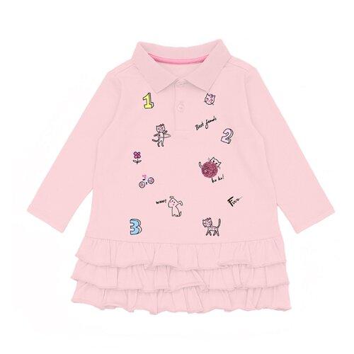 Платье Pixo размер 80, розовый