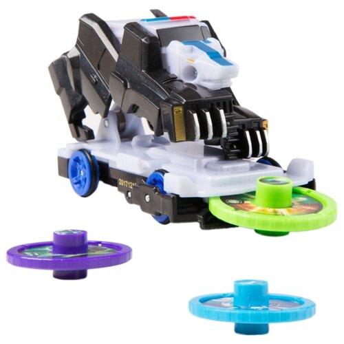 Купить Интерактивная игрушка трансформер РОСМЭН Дикие Скричеры. Линейка 2. Смоки (34829) белый/черный, Роботы и трансформеры