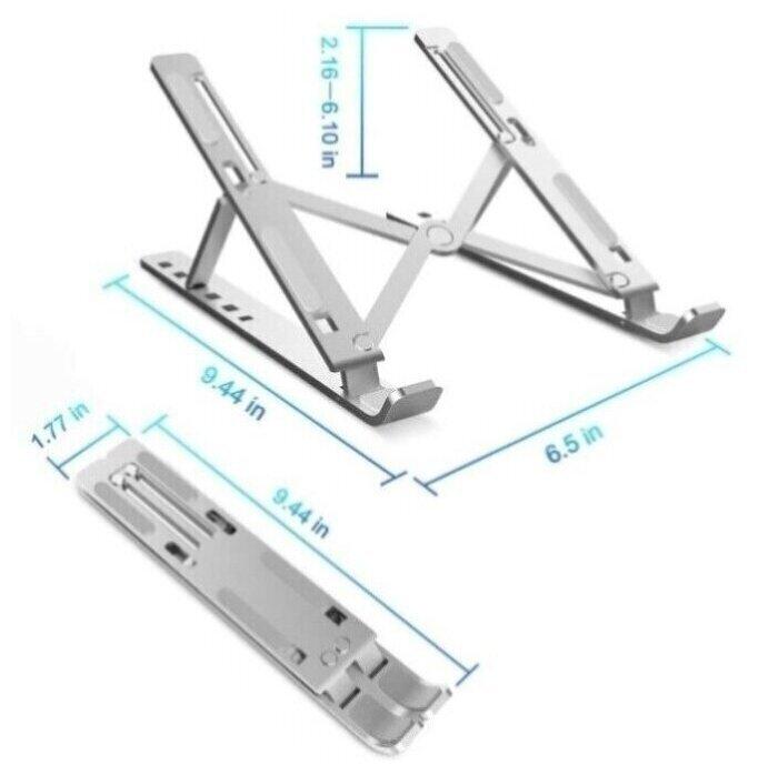 Складная переносная алюминиевая подставка для ноутбука с чехлом carnero electronics складной столик для ноутбука купить в москве трансформер