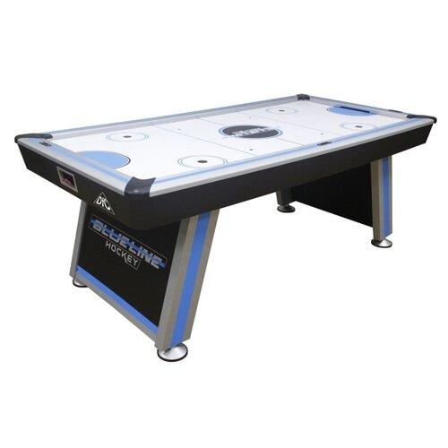 Игровой стол для аэрохоккея DFC Sparta JG-AT-184011 черный/синий