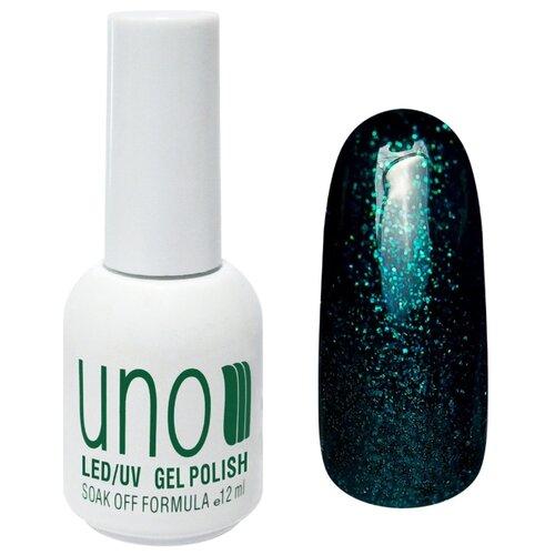 Купить Гель-лак для ногтей UNO Color Классические оттенки, 12 мл, оттенок 164 Изумруд