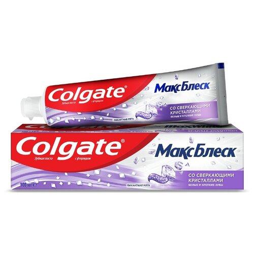 Купить Зубная паста Colgate Макс Блеск, пикантная мята, 100 мл