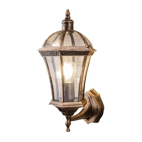 Elektrostandard Уличный настенный светильник Capella черное золото a024993 цена 2017
