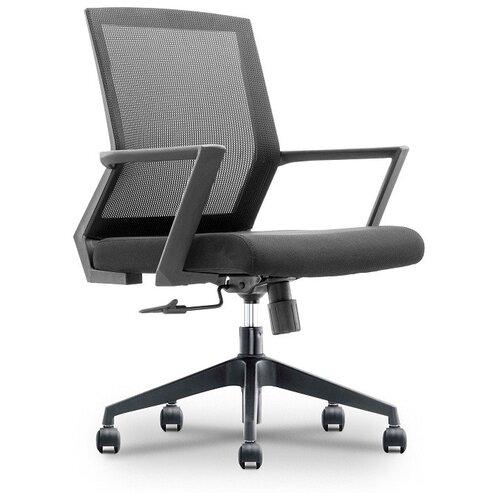 Компьютерное кресло College CLG-432 MBN офисное, обивка: текстиль, цвет: черный 2 компьютерное кресло college clg 619 mxh b офисное обивка текстиль цвет бежевый