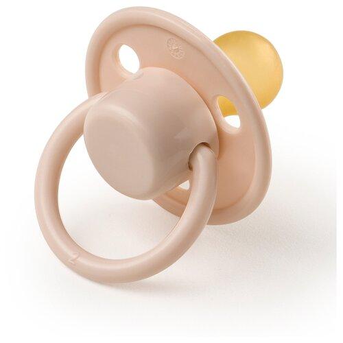 Купить Пустышка латексная классическая Happy Baby 13023 0-6 м (1 шт.) pink, Пустышки и аксессуары