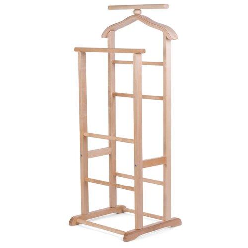 Напольная вешалка Мебелик В 9Н светло-коричневый