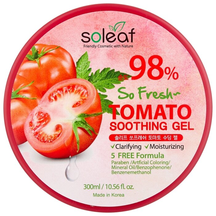 Гель для тела soleaf So Fresh Tomato