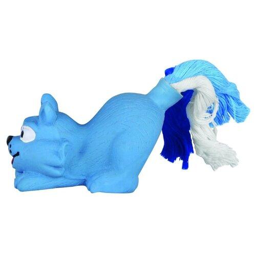 цена на Игрушка для собак DEZZIE Кот (5620104) голубой