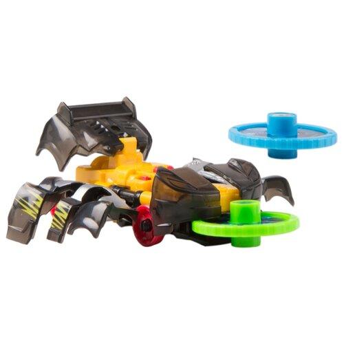 Интерактивная игрушка трансформер РОСМЭН Дикие Скричеры. Линейка 1. Найтвивер (34820) черный/желтый интерактивная игрушка трансформер росмэн дикие скричеры линейка 2 манкиренч 34825 красный