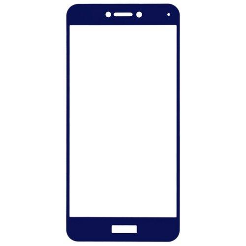 Защитное стекло Gosso FULL SCREEN для Huawei Honor 8 Lite/P8 Lite (2017) синий чехол для сотового телефона gosso cases для huawei p20 lite soft touch 186905 темно синий