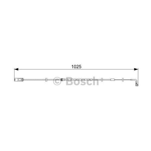 Датчик износа тормозных колодок задний Bosch 1987473026 для BMW X5, BMW X6