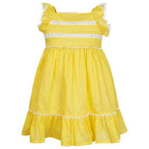 Платье Il Gufo размер 74, желтый