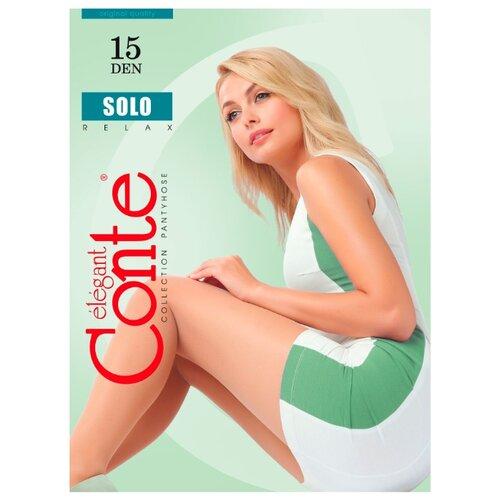 Фото - Колготки Conte Elegant Solo 15 den, размер 2, bronz (коричневый) колготки conte elegant active soft 20 den размер 2 bronz коричневый