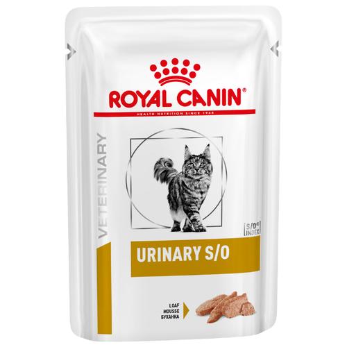 Корм для кошек Royal Canin Urinary S/O при лечении МКБ 85 г (паштет) cat wet food royal canin ultra light pieces in jelly 24 85 g cat wet food royal canin aging 12 pieces in jelly 85 g 24