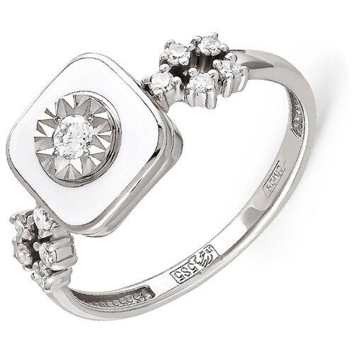 Фото - KABAROVSKY Кольцо с 11 бриллиантами из белого золота 11-1803-1010, размер 16.5 kabarovsky кольцо с 11 бриллиантами из белого золота 11 1803 1010 размер 17