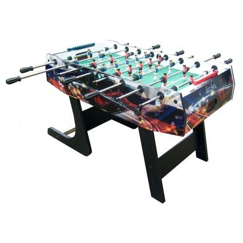 Игровой стол для футбола DFC Barcelona GS-ST-1338 черный с рисунком