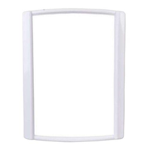 Зеркало BEROSSI Bordo 47.9x62.6 см снежно-белый в раме