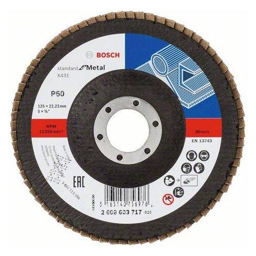 Лепестковый диск BOSCH Standard for Metal 2608603717