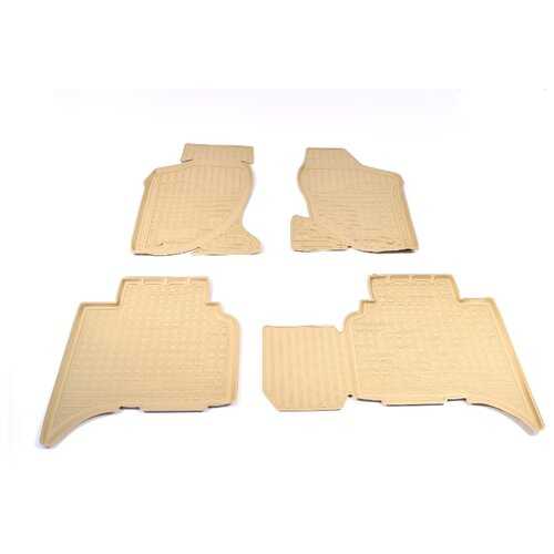 Комплект ковриков NorPlast NPL-Po-29-33 4 шт. бежевый комплект ковриков norplast npl po 29 33 4 шт черный