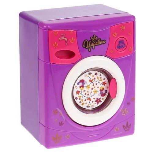 Купить Стиральная машина Играем вместе Царевны B363673-R розовый/фиолетовый, Детские кухни и бытовая техника
