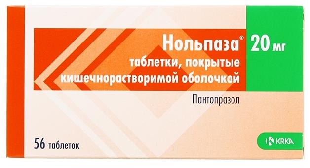 Характеристики модели Нольпаза таб. кш/раств. п/о плен. 20 мг №56 на Яндекс.Маркете