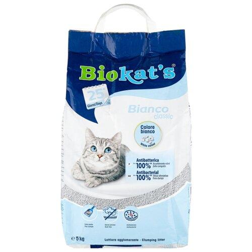 Комкующийся наполнитель Biokat's Bianco Classic 5 кг